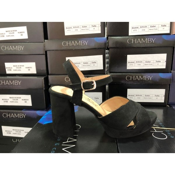 Sandalia Plataforma CHAMBY 7300