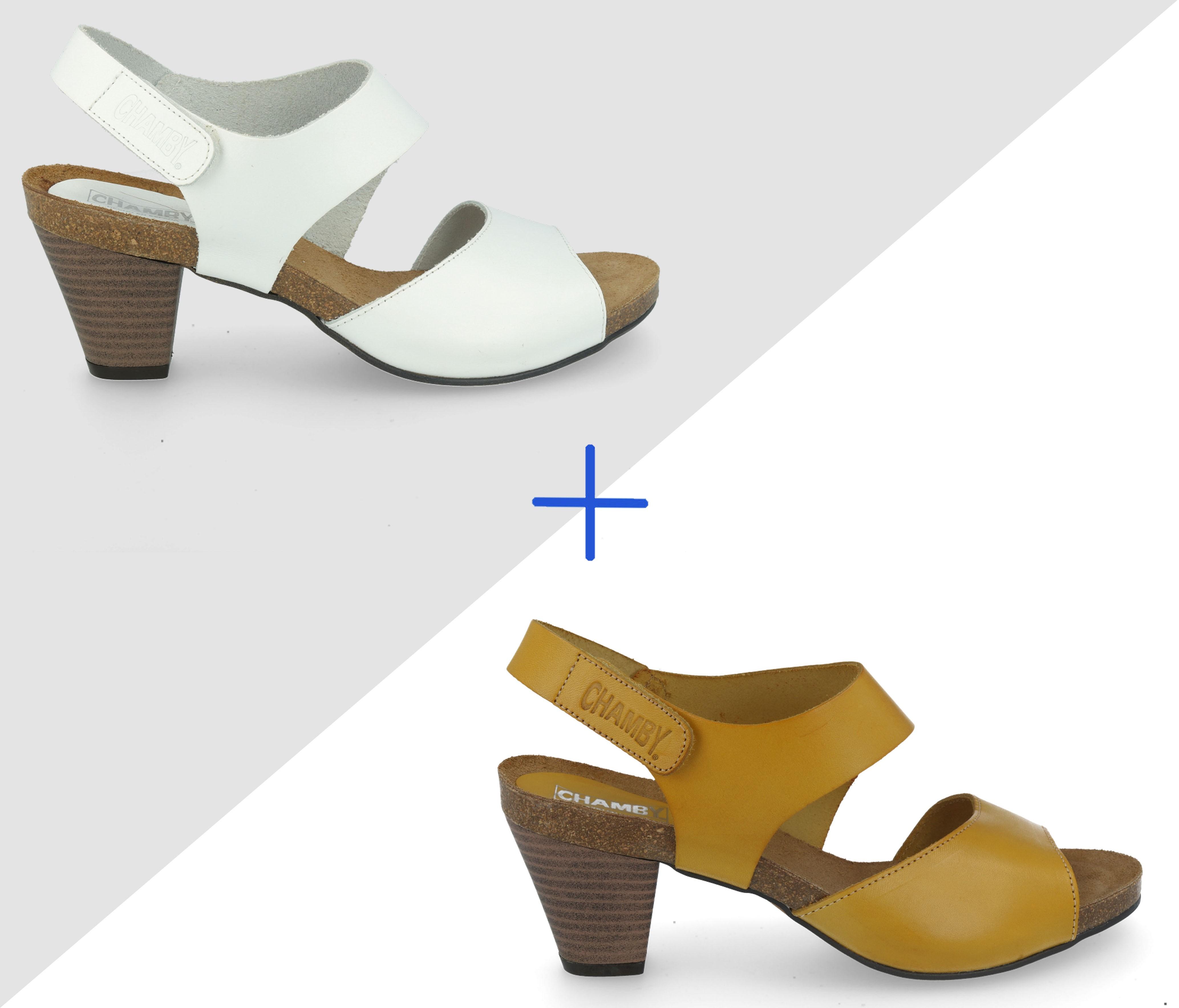 Confort Pack Ahorro Cuña Piel Sandalia Comodas Nvm0w8nO