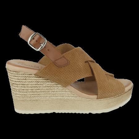 Sandalia piel FIORDI FLORA