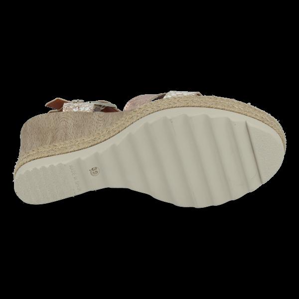 Sandalia piel confort VAQUETILLAS PARIS