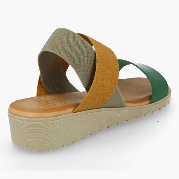 Sandalia piel BLUSANDAL KARINA