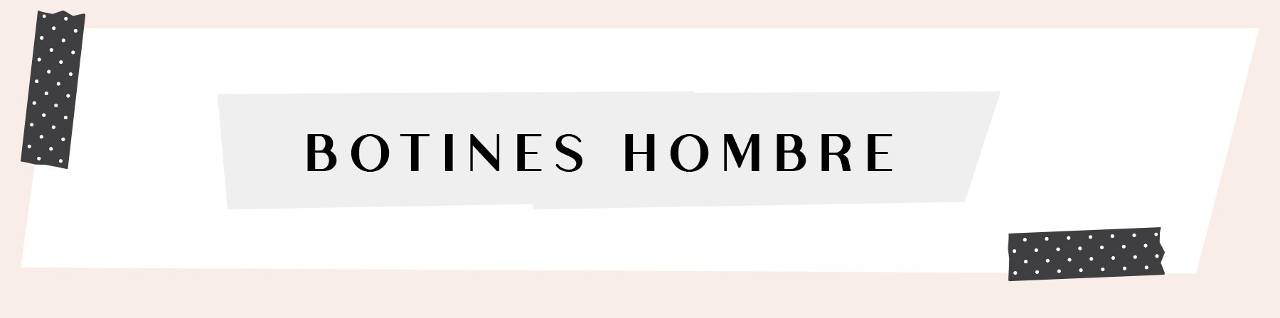 · BOTINES HOMBRE PIEL
